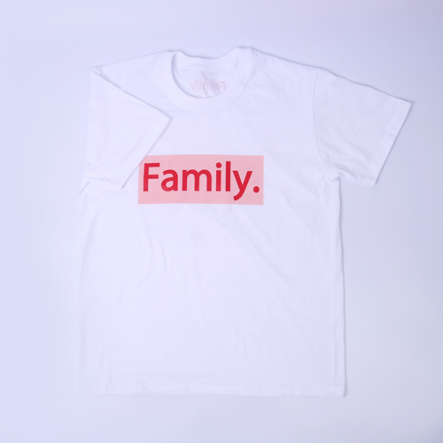 family couple top(pink)-human